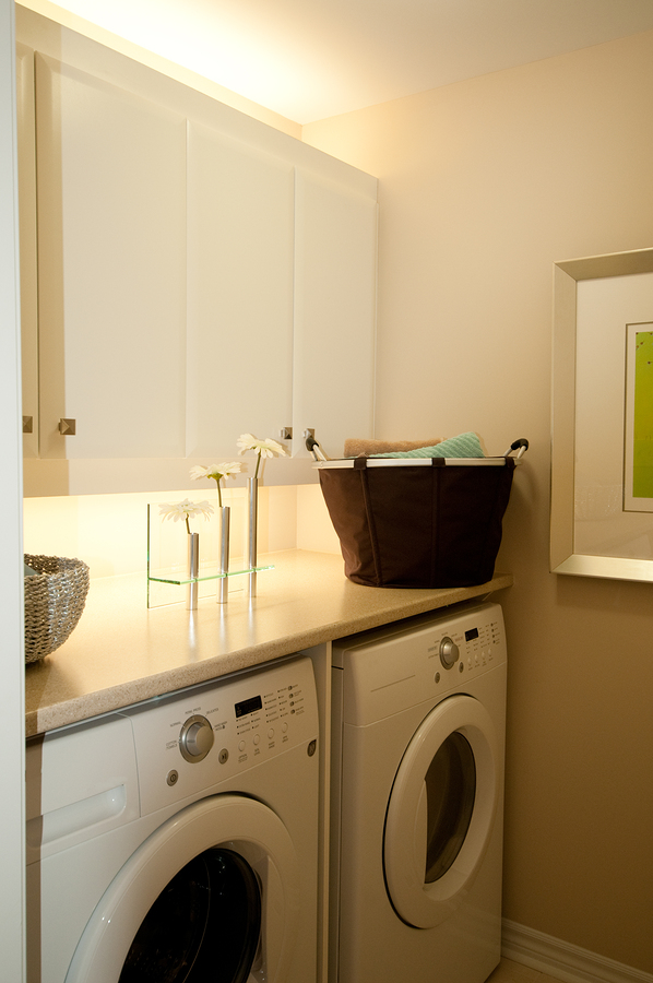 Handy storage ideas for small laundry spaces the woodlands tx the doug erdy group - Laundry rooms for small spaces decoration ...